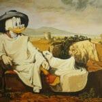 donald duck im antiken griechenland
