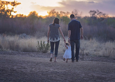 Die Familie ist unsere Basis für den Start in unser Leben