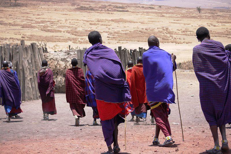 Afrikanische Nomaden